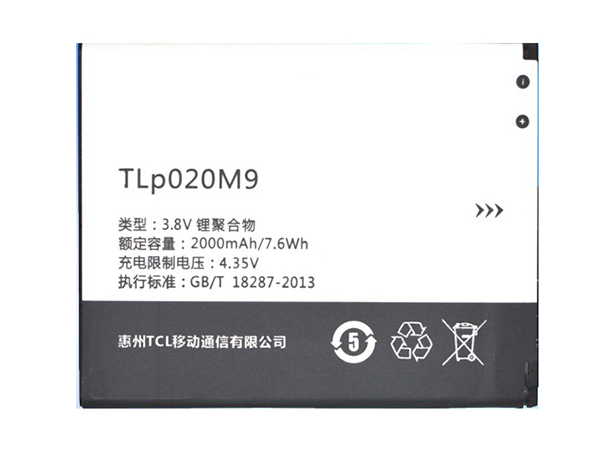 LAPTOP-BATTERIE Alcatel TLP020M9