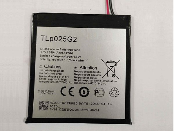 LAPTOP-BATTERIE Alcatel TLp025G2