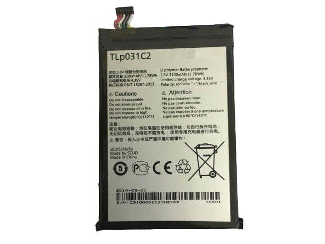 LAPTOP-BATTERIE Alcatel TLp031C2