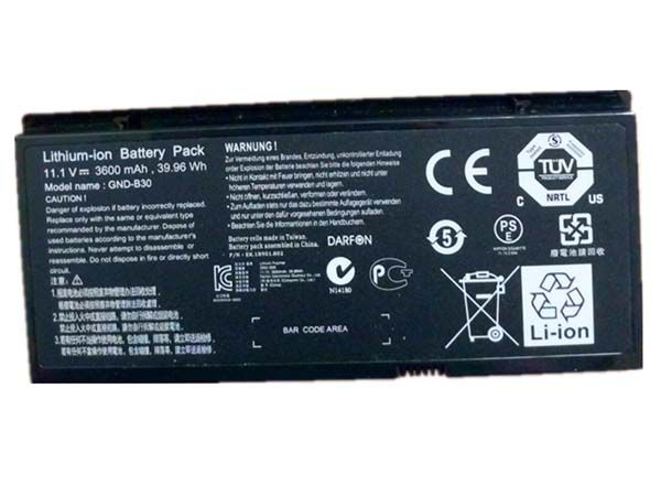 LAPTOP-BATTERIE GIGABYTE GND-B30