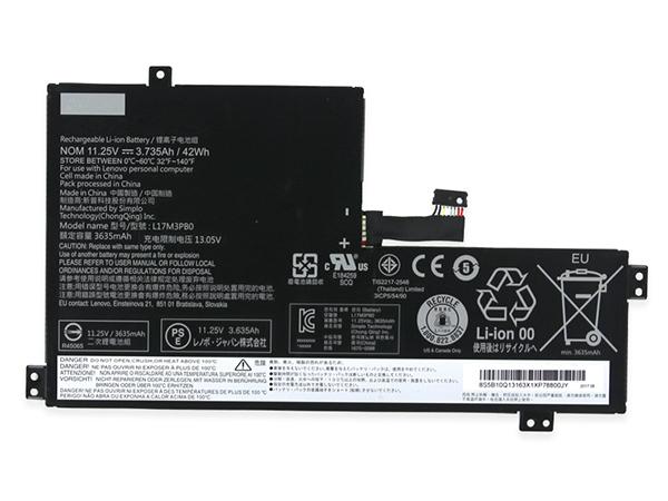 LAPTOP-BATTERIE Lenovo L17M3PB0