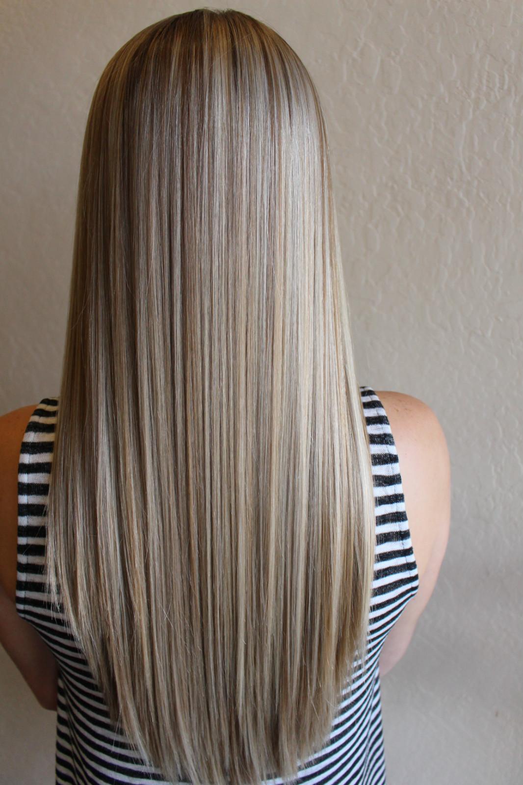 Foil Highlights AK Lounge San Antonio Hair Permanent