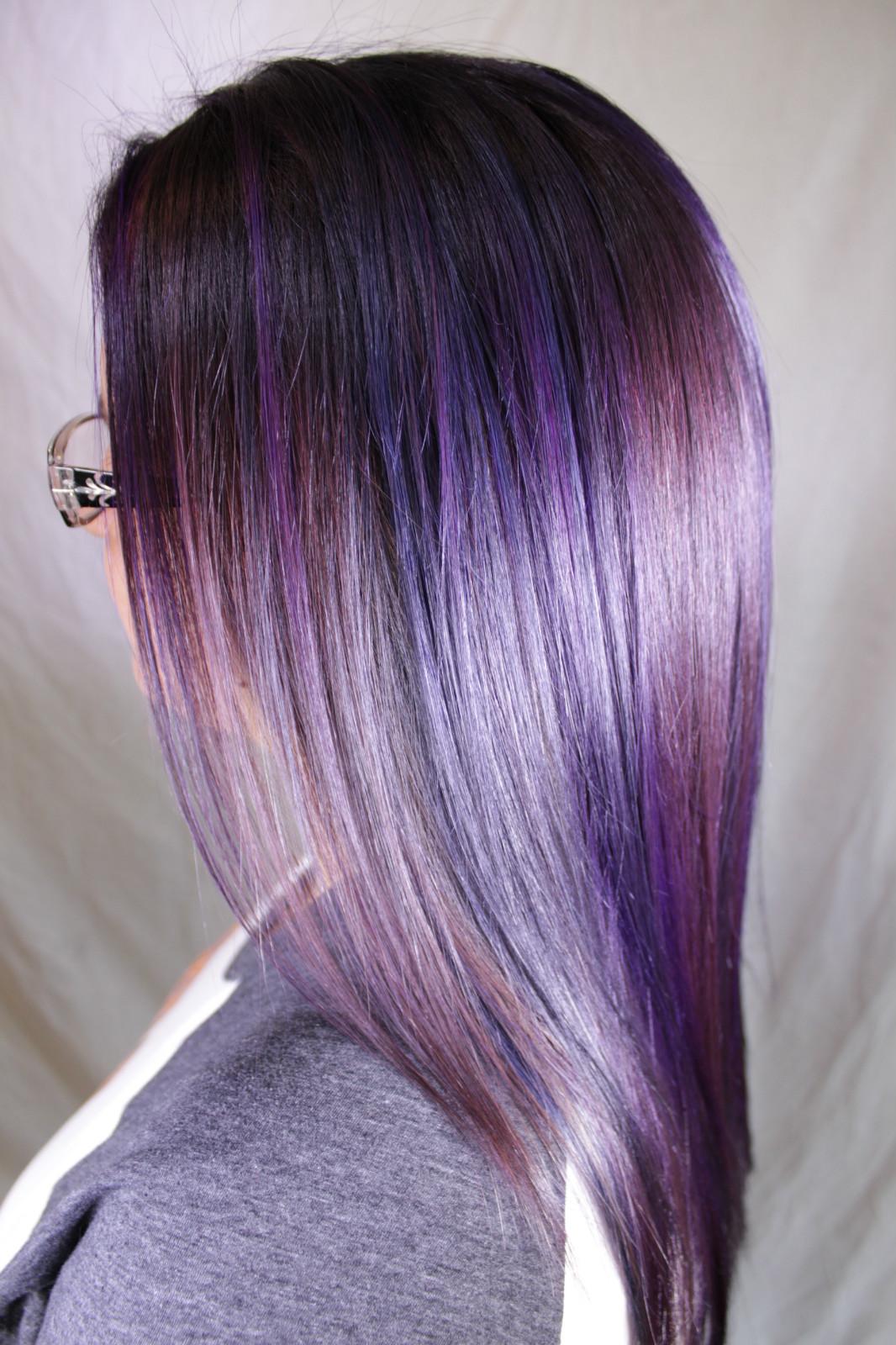 Rainbow Hair AK Lounge Best Salon San Antonio