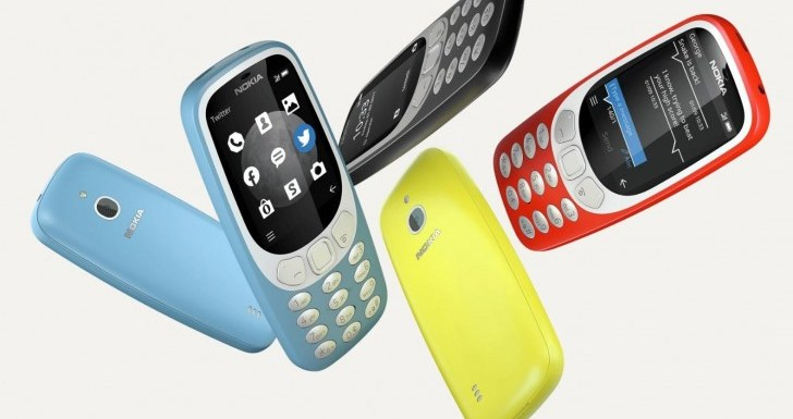 HMD Global Nokia Launched 3310 With 3G Support,Price In India