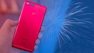 Honor 7X 32GB Red Limited Edition Variant