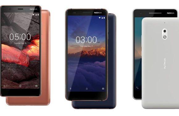 Nokia 5.1,Nokia 3.1,Nokia 2.1 3GB Variant Launched In India:Price And Spec