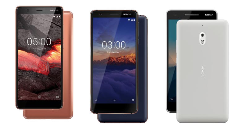 Nokia 5.1,Nokia 3.1,Nokia 2.1 3GB Variant Launched In India:Price And Spec