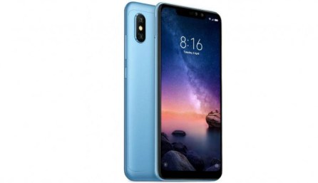 Xiaomi note 6 pro With 6.26 Inch Display And 4 Cameras