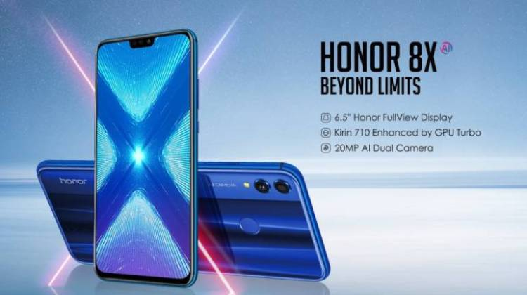 Honor 8X With 20 Mp Dual Camera And 6.5-inch Display Launched