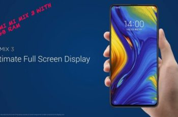 Xiaomi Mi Mix 3 With front Camera Slider, 4 Cameras And 10 GB RAM