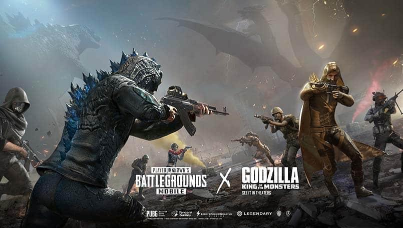 PUBG Mobile 0.13.0 Update With Godzilla Theme