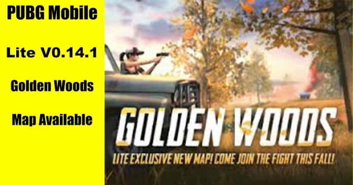 PUBG Mobile Lite Golden Woods map