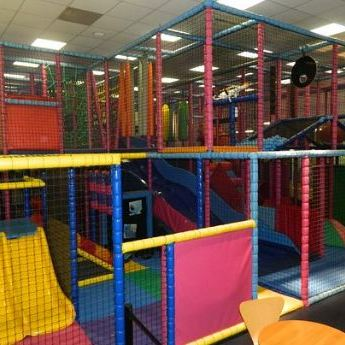 indoor play area for restaurant
