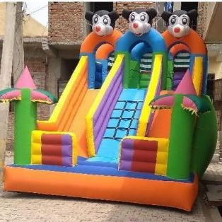 pvc fabric inflatable slides karachi