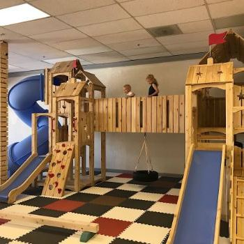 wood indoor play area