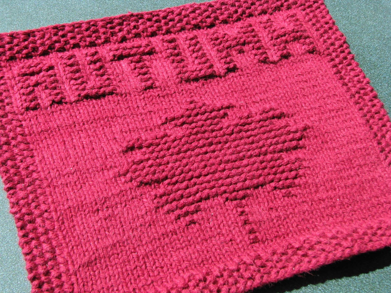Kitchen Knitted Dishcloths Patterns