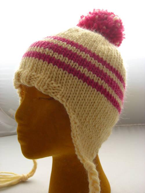 Knit Bear Ears Hats Patterns
