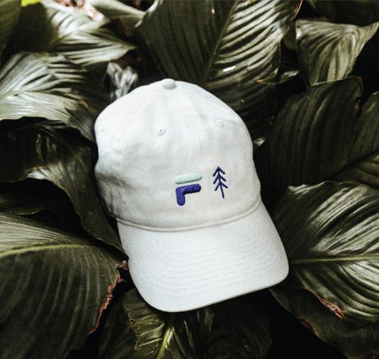 AK + FILA Tree Dad Hat 3