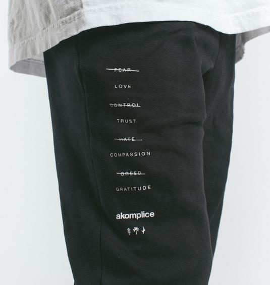 AK X UMBRO Transform Sueded Fleece Joggers