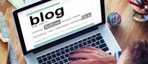 ako blogovat