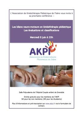 Affiche AKPI conférence bilans