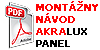 Montazny Manual Akralux Panel