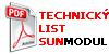 Technicky list SunModul