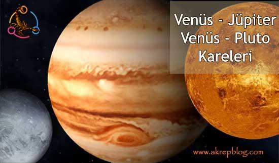 Venüs Jüpiter, Venüs Pluto Kareleri ve Etkileri
