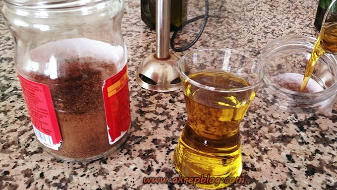 evde üzerlik tohumu yağı yapımı