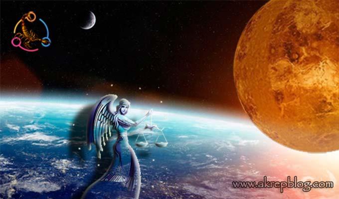 Venüs Terazi Burcunda