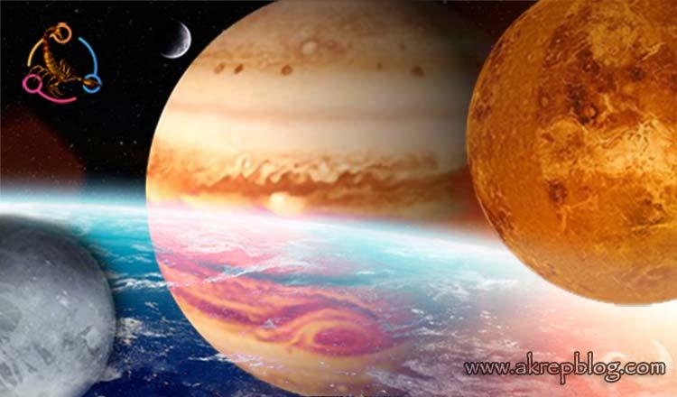 Venüs Pluto Karesi, Venüs Jüpiter Üçgeni