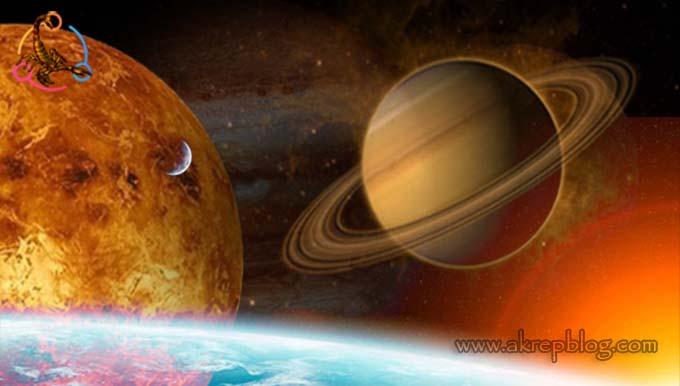 Venüs Satürn Karesi