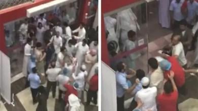 Photo of بالفيديو .. مشاجرة جماعية بين يمنيين و سعودي في الرياض