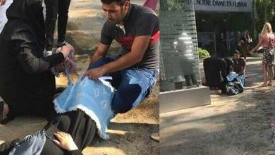 Photo of سيدة سورية تنجب طفلها على باب مستشفى لبناني .. إتهامات للمستشفى برفض استقبالها و الأخير يصدر بيان نفي (صور + فيديو)