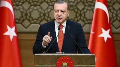 """Photo of أردوغان : """" لن نسمح للإرهابيين بتشكيل دولة على حدودنا مع سوريا """""""