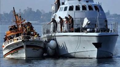 صورة خفر السواحل الإيطالية ينقذ 2500 لاجئ في المتوسط