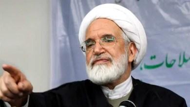 صورة المعارض الإيراني البارز مهدي كروبي يبدأ إضراباً عن الطعام