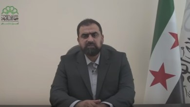 """Photo of خطاب و ظهور أول لقائد حركة أحرار الشام الجديد """" حسن صوفان """" ( فيديو )"""
