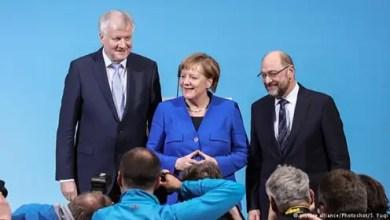 """Photo of """" جيد لحكومة مستقرة """" .. ألمانيا : ميركل تشيد بالاتفاق على تشكيل الحكومة الجديدة"""