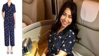 Photo of ملابس نوم المطربة المصرية شيرين عبد الوهاب تثير الجدل بسبب ثمنها الباهظ