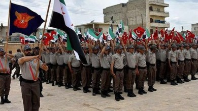 Photo of حلب : تخريج العشرات من عناصر الشرطة في اعزاز بعد تلقيهم تدريباً في تركيا ( فيديو )
