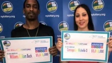 Photo of زوجين أمريكيين بحثا عن فكة لـ 100 دولار .. فربحا 5 ملايين !
