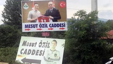 Photo of تركيا : البلدة التي تعود إليها أصول أوزيل تزيل صورته بقميص المنتخب الألماني و تستبدلها بصورته مع أردوغان ( فيديو )