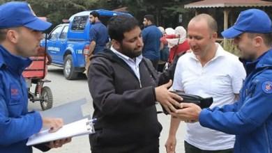 صورة تركيا : رجل أمين يعثر على حقيبة مليئة بعشرات الآلاف من الريالات في الشارع و يعيدها لصاحبها السعودي ( فيديو )