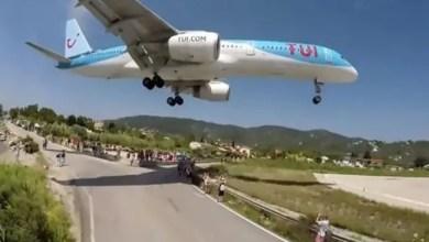 صورة محرك طائرة يقذف صبياً بريطانياً لمسافة 32 قدماً