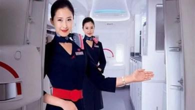 صورة طلب زواج يتسبب بفصل مضيفة طيران صينية من عملها ( فيديو )