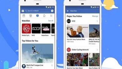 """Photo of """" فيسبوك """" تطلق خدمة """" ووتش """" المنافسة لـ """" يوتيوب """" في جميع أنحاء العالم"""