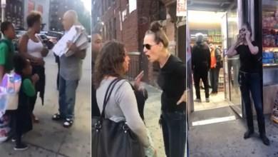 صورة لقطات تكشف حقيقة ادعاء امرأة أمريكية بتحرش طفل بها ! ( فيديو )
