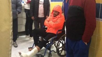 صورة المغني محمد حماقي يتعرض لإصابة قوية و يخضع لعملية جراحية