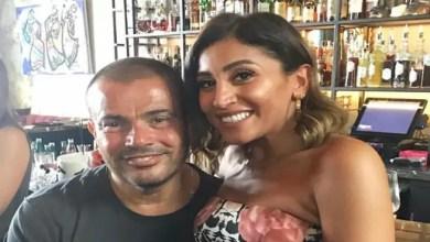 Photo of النجم المصري عمرو دياب يحتفل مع دينا الشربيني بعيد ميلادها ( فيديو )
